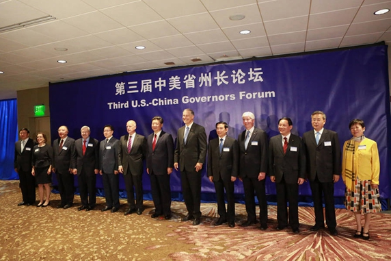 US-China Governors Forum.