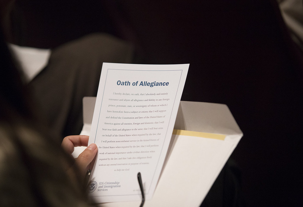 EXC: Biden Exec Order Hints at Removal of Oath of Allegiance for New Migrants. - The National Pulse