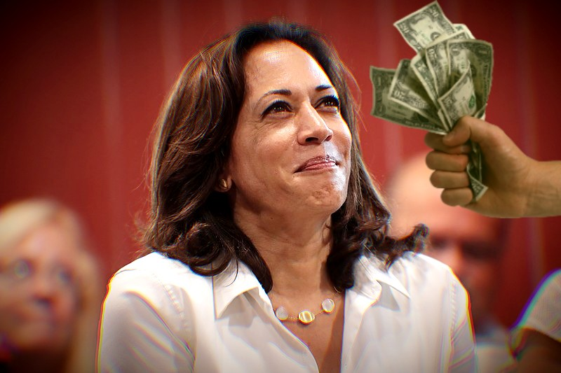 Revealed Kamala Harris Campaign Lawyer Convinced Clinton To Take Money From Registered Foreign Agents