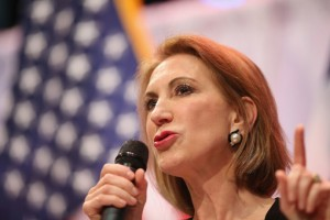 Former Hewlett-Packard CEO Carly Fiorina (photo credit: Peter Stevens via Flickr, CC BY 2.0)
