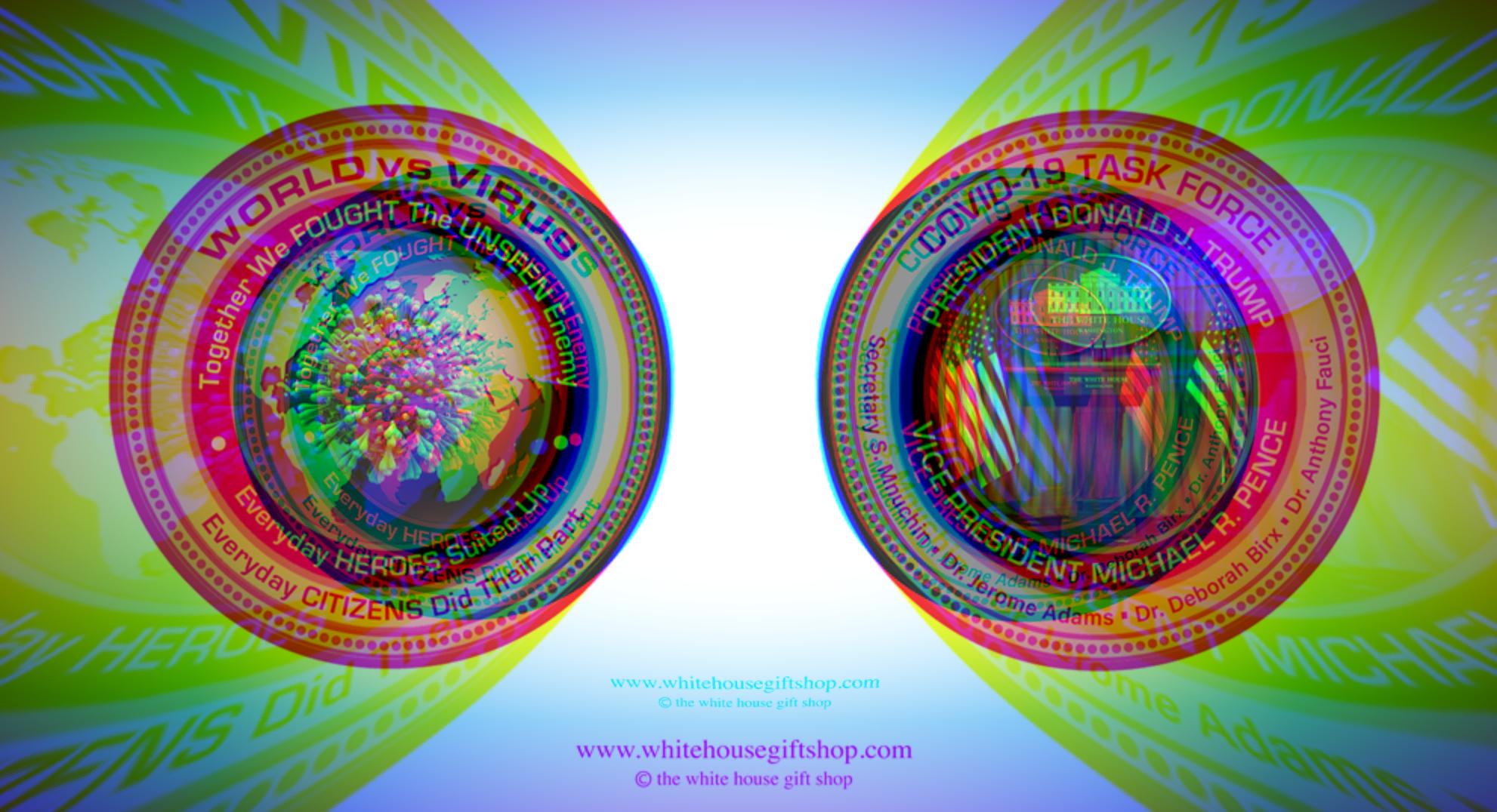 coronavirus coin