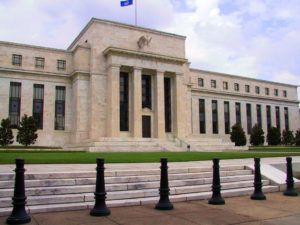 The Federal Reserve headquarters in Washington, DC (photo credit: Dan Smith, CC BY-SA 2.5)