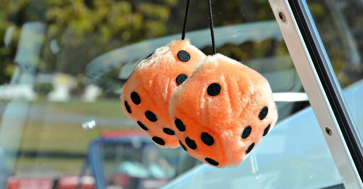 Does Your Car Have Fuzzy Dice You Could Face A Hefty Fine In