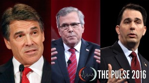 Governors Rick Perry, Jeb Bush, and Scott Walker