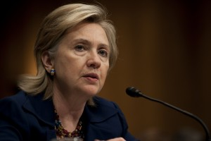 Former Secretary of State Hillary Clinton (photo credit: Chairman of the Joint Chiefs of Staff via Flickr, CC BY 2.0)