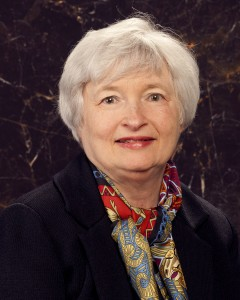Federal Reserve Chairwoman Janet Yellen (public domain via Board of Governors of the Federal Reserve)