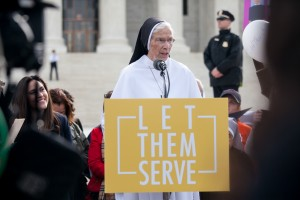 The Little Sisters of the Poor rally outside of the Supreme Court on March 23, 2016 (photo credit: American Life League via Flickr, CC BY-NC 2.0)