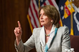 House Minority Leader Nancy Pelosi (D-CA) (photo credit: US Department of Labor via Flickr, CC BY 2.0)