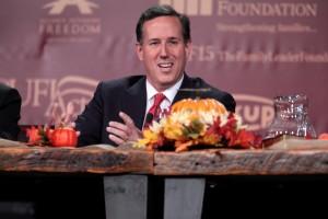 Former U.S. Sen. Rick Santorum (R-Pa.) (photo credit: Gage Skidmore)