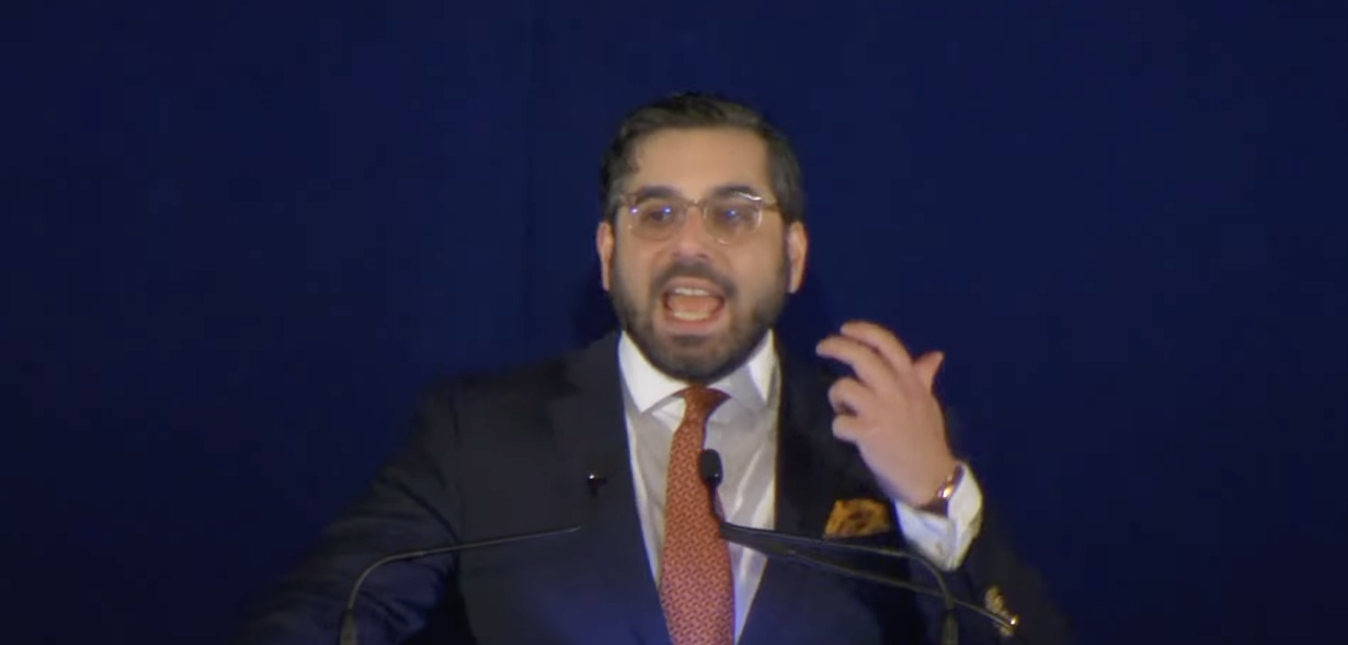 WATCH: Kassam Blasts Never Trumpism, Corporate Conservatism at Fiery Hillsdale Speech.