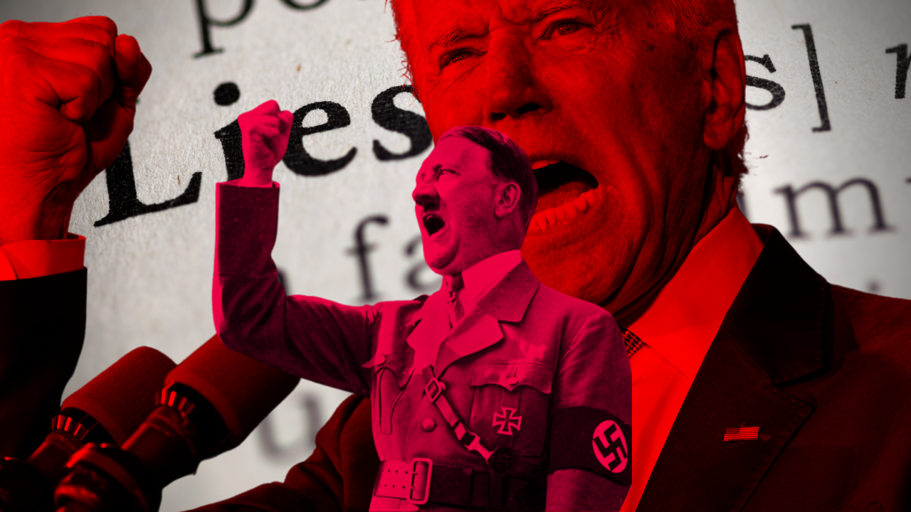 """The Left Keeps Accusing Conservatives of """"The Big Lie"""" – A Term Invented by Hitler As He Prepared to Persecute German Jews."""